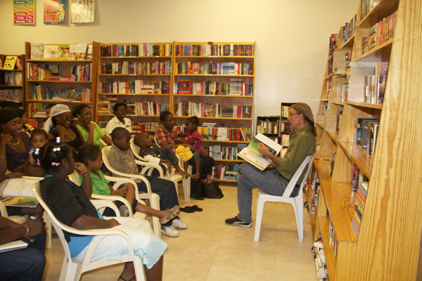 "Mario's reading of ""A Caribbean Journey from A to Y"" and conversation at the wonderful Best of Books, Village Walk branch."