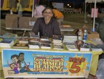 Mario at the Summer Reading Challenge tent during the Relay for Life 2012 event, St Thomas, U.S. Virgin Islands