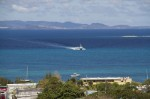 The Vieques ferry arriving from Puerto Rico.