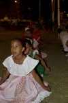Young dancers perform at the event.