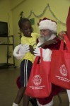 Hugs for Santa, Julius E. Sprauve School, St John