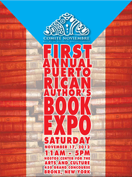 Flyer for the book expo