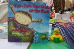 "Board book ""Fun, Fun, One Crab on the Run"" was a huge hit."