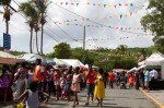 The Summer Reading Challenge on St. John was held during the island's carnival celebration of Food Fair.