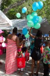 It was a great day for everyone. All books, bags, and balloons, as well as other treats all free of charge to the kids.